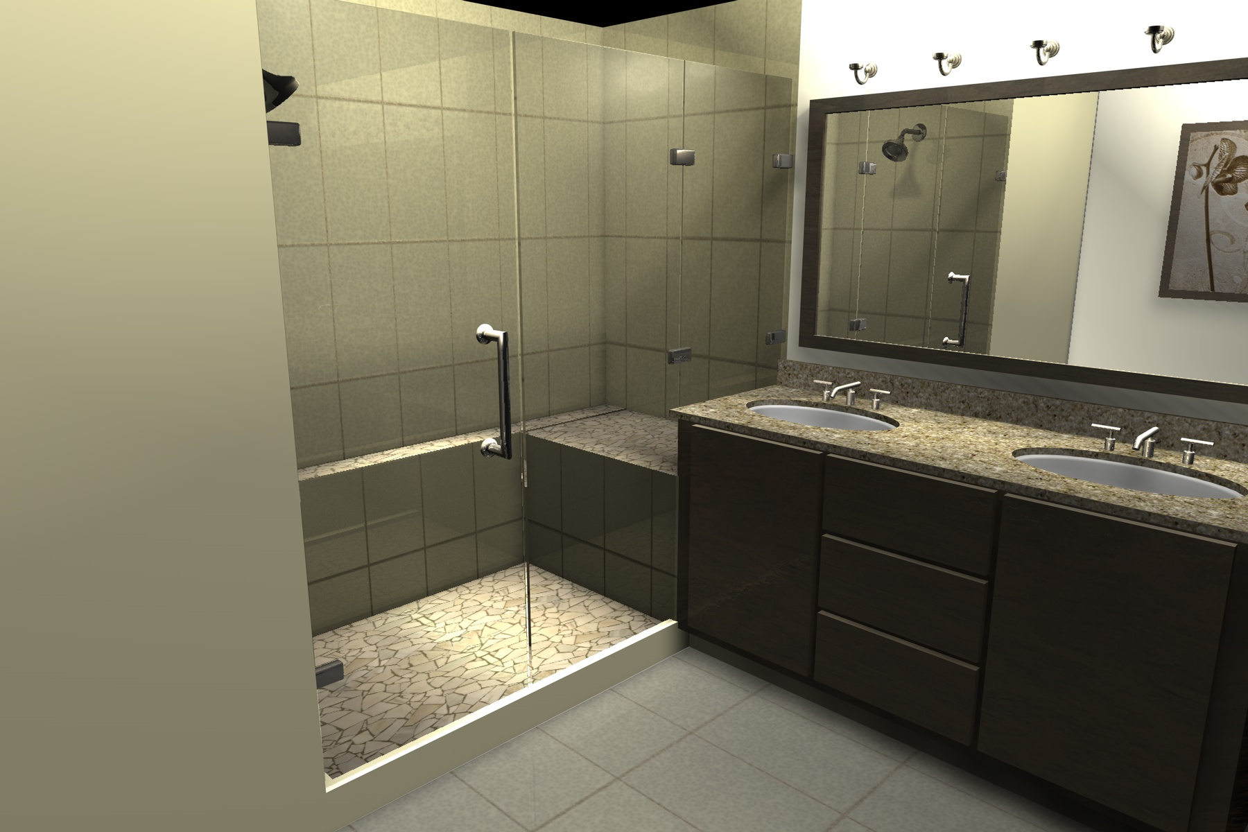 3D rendering used in planning | Creative Touch Kelowna Interior Design