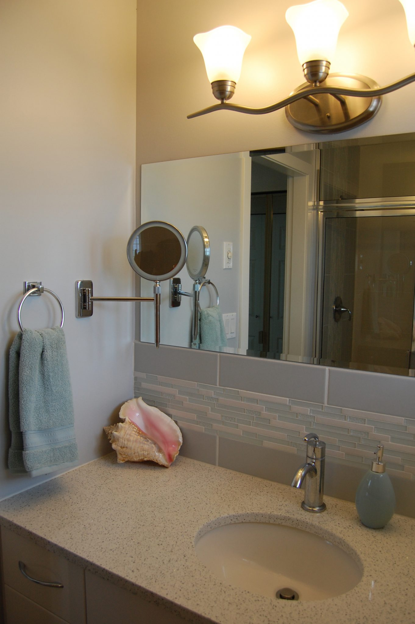 Bathroom after | Creative Touch Kelowna Interior Design