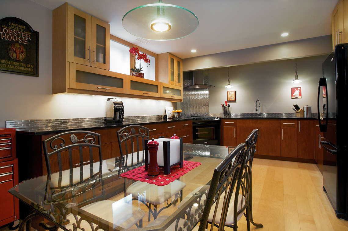 Interior Design Kelowna - Creative Touch - dining area after renovation