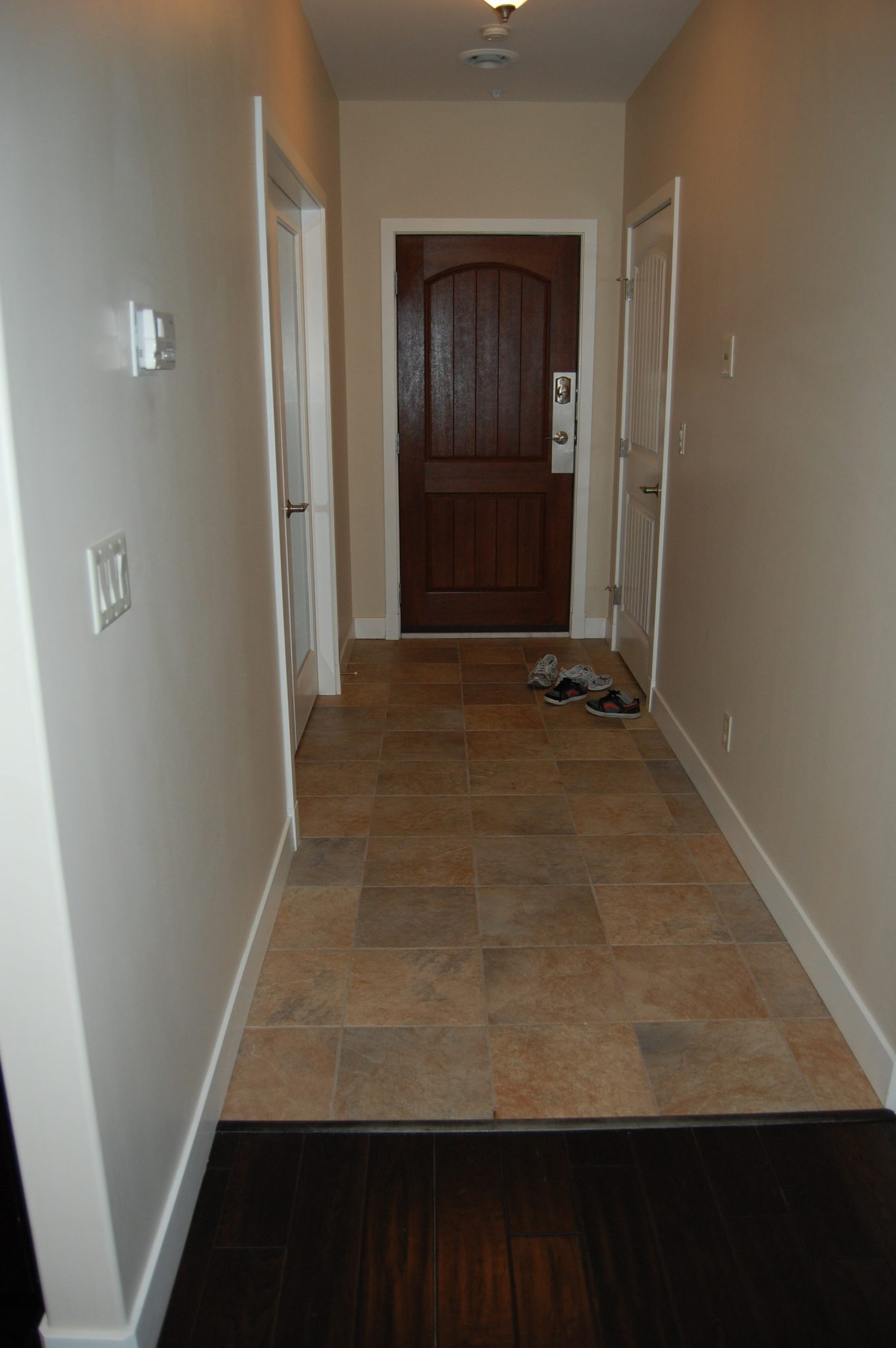 Entryway before... | Creative Touch Kelowna Interior Design
