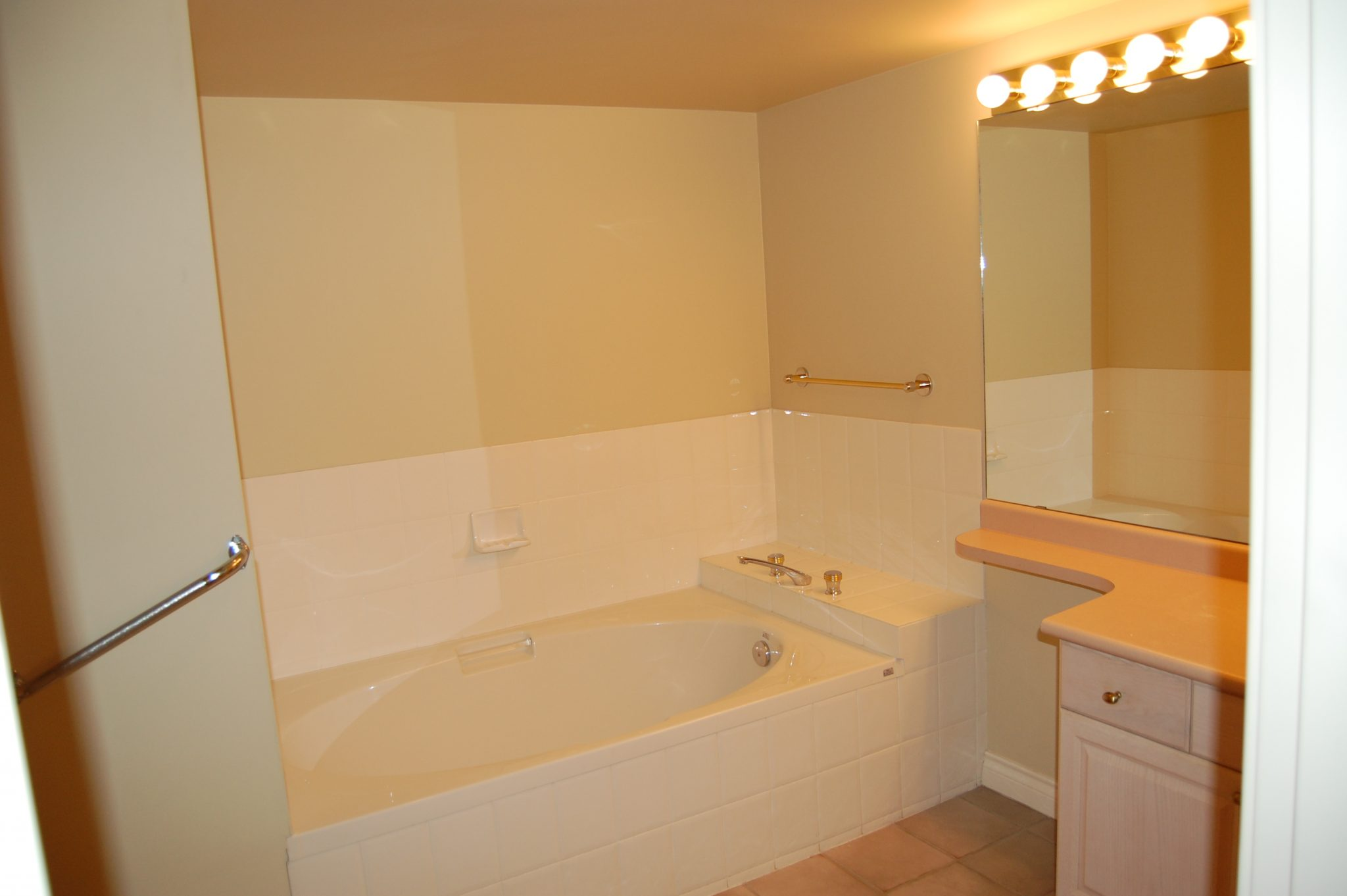 Master bathroom before... | Creative Touch Kelowna Interior Design