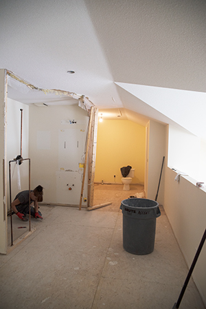 Renovation in Progress: Upstairs
