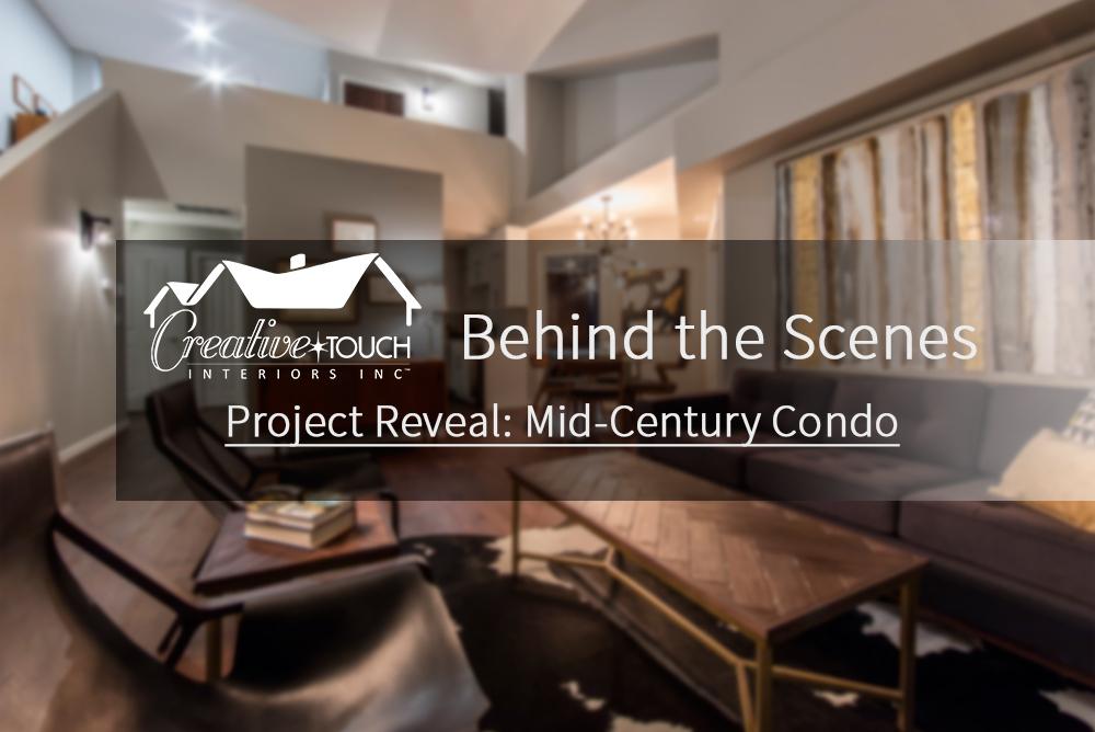 Interior Design Kelowna - Creative Touch Interiors - Project Reveal: Mid-Century Condo